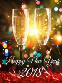 Happy New Year 2018 Champaigne